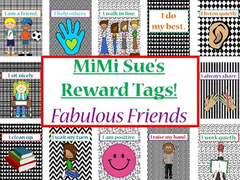 MiMi Sue's Brag Tags (Fabulous Friends/Primary Behaviors)