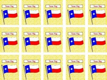 MiMi Sue's Brag Tags (Texas Symbols) 14 Symbols  SWAG
