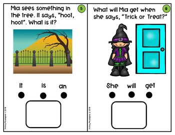 Mia's First Halloween-Wh questions#slpmusthave