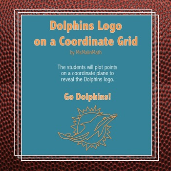 Miami Dolphins Logo on the Coordinate Plane