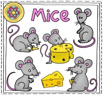 Mice - 12 cute ClipArts