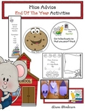 """End of the Year Activities: """"Mice Advice"""" for Next Year's Students"""