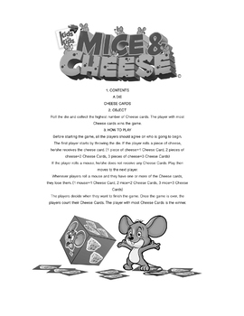 Mice & Cheese