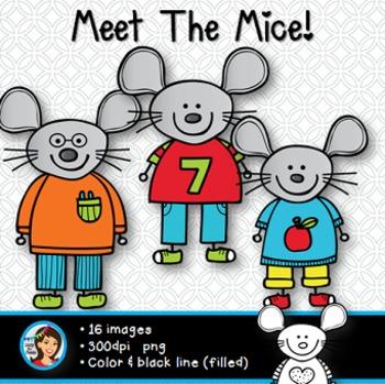 Clip Art Mice
