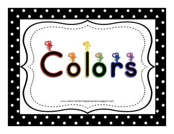 Mice Color Signs