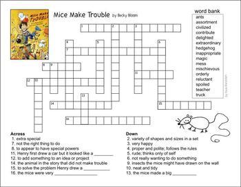 Mice Make Trouble Lit Unit