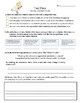 Mice Make Trouble - Text Talk - Vocabulary, Comprehension, Test Prep