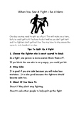 Mice + Men 9: Functional Skills Reading -The Fight -Special Needs/Low Attainment