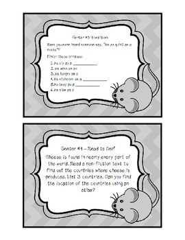 Mice-Themed Activities for the Primary Classroom
