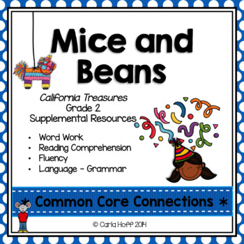 Mice and Beans - Common Core Connections-Treasures Gr. 2