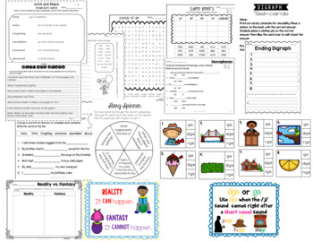 Mice and Beans: Treasures 2nd Grade:Common Core Aligned Activities