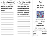 Mice and Beans Trifold - Treasures 2nd Grade Unit 4 Week 5 (2011)