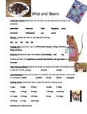 Mice and Beans Weekly Skill Sheet - 2nd Grade Treasures