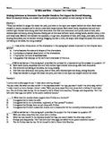 Mice of Men Chapters 1&2 PARCC CCSS Aligned Quiz/Test w/ Key