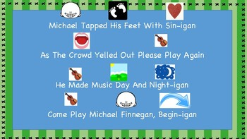Michael Finnegan Music Activities **Adapted for Special Learner Musicians