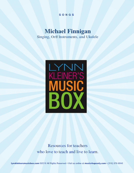Michael Finnigan: Orff Orchestration for St. Patrick's Day