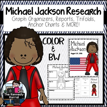 Michael Jackson Biography Research Bundle {Report, Trifold