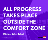 Michael John Bobak Quote for the Classroom