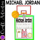 Michael Jordan Basketball Craft Activity (Black History; Sporting Legends)