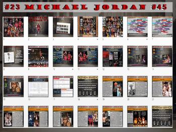Michael Jordan: Basketball Legend - Fun PPT and handout (High DOK Engagement)