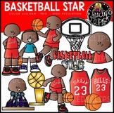 Basketball Star Clip Art Set {Educlips Clipart}