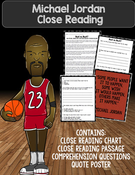 Michael Jordan Close Read