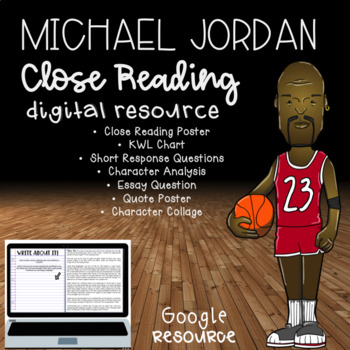 Michael Jordan Digital Close Read