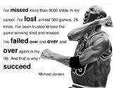 Michael Jordan Failure Quote