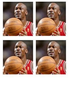 Michael Jordan and Basketball Word Search