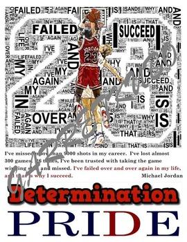 Determination Motivational Poster: Michael Jordan Failure