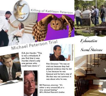 Michael Peterson - Murder Trial - Raptor Attack - Alford Plea - FREE POSTER