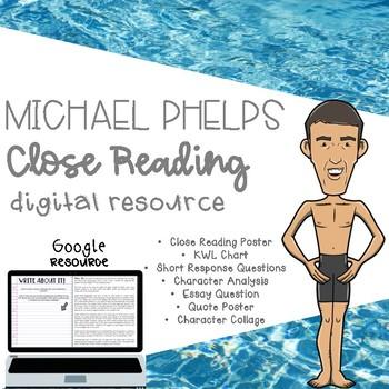 Michael Phelps Digital Close Read