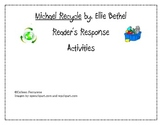 Michael Recycle Reader's Response Printables