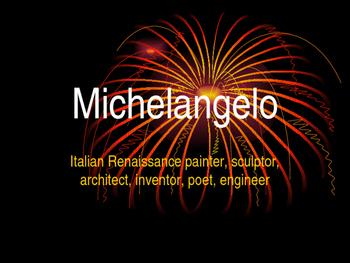 Michelangelo Artist Preview