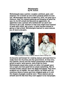 Michelangelo Biography