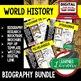 Michelangelo Biography Research, Bookmark Brochure, Pop-Up Writing Google