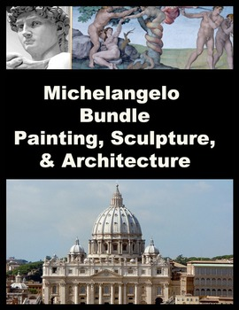 Michelangelo Bundle Paintings,Sculptures, and Architecture