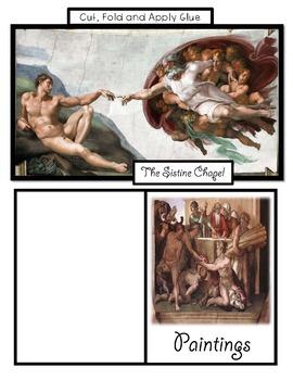 Michelangelo Lap Book