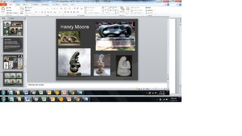 Michelangelo/Henry Moore Paper Mache Project Bundle