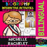 Michelle Bachelet- Interactive Activities - Dual Language