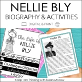 Nellie Bly Biography & Reading Response Activities | Digit