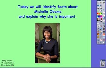 Michelle Obama Flipchart