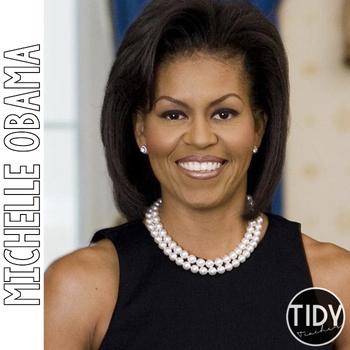 Michelle Obama Pebble Go Research