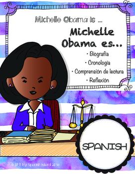 Michelle Obama is...«Michelle Obama es...»