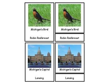 Michigan 3 Part Cards