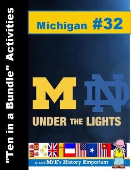 """Michigan #32 - """"Ten to a Bundle"""" Activities"""