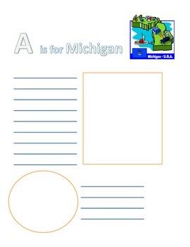 Michigan ABC Book