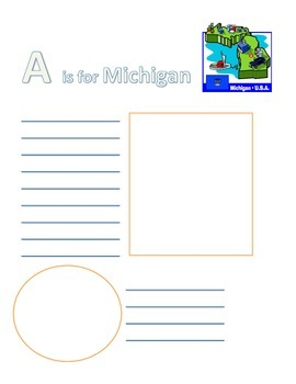 Michigan ABC Book