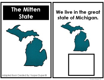 State of Michigan Adapted Book