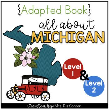 Michigan Adapted Books (Level 1 and Level 2) | Michigan State Symbols